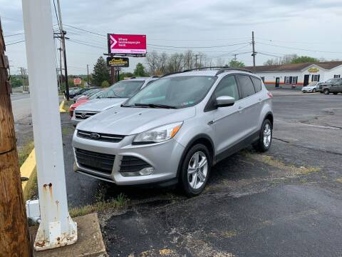 2013 Ford Escape for sale at Credit Connection Auto Sales Dover in Dover PA