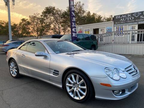 2007 Mercedes-Benz SL-Class for sale at Black Diamond Auto Sales Inc. in Rancho Cordova CA