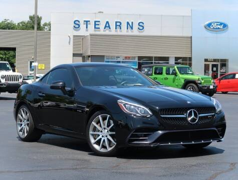 2017 Mercedes-Benz SLC for sale at Stearns Ford in Burlington NC