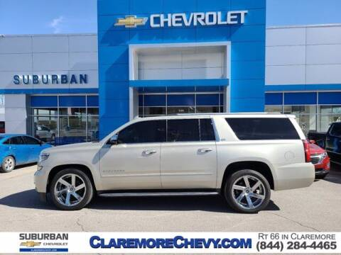 2016 Chevrolet Suburban for sale at Suburban Chevrolet in Claremore OK