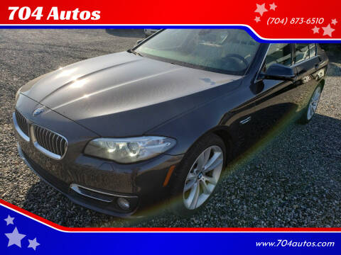 2015 BMW 5 Series for sale at 704 Autos in Statesville NC