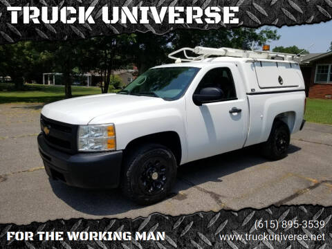 2012 Chevrolet Silverado 1500 for sale at TRUCK UNIVERSE in Murfreesboro TN