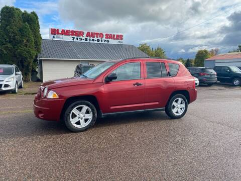 2007 Jeep Compass for sale at BLAESER AUTO LLC in Chippewa Falls WI