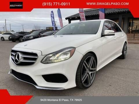 2014 Mercedes-Benz E-Class for sale at SOUTHWEST AUTO GROUP-EL PASO in El Paso TX