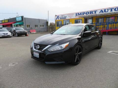 2016 Nissan Altima for sale at Import Auto World in Hayward CA