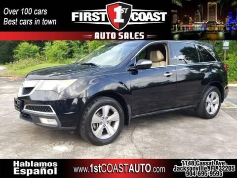 2010 Acura MDX for sale at 1st Coast Auto -Cassat Avenue in Jacksonville FL