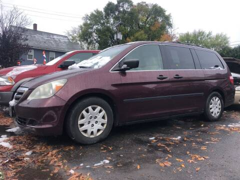 2007 Honda Odyssey for sale at Connecticut Auto Wholesalers in Torrington CT