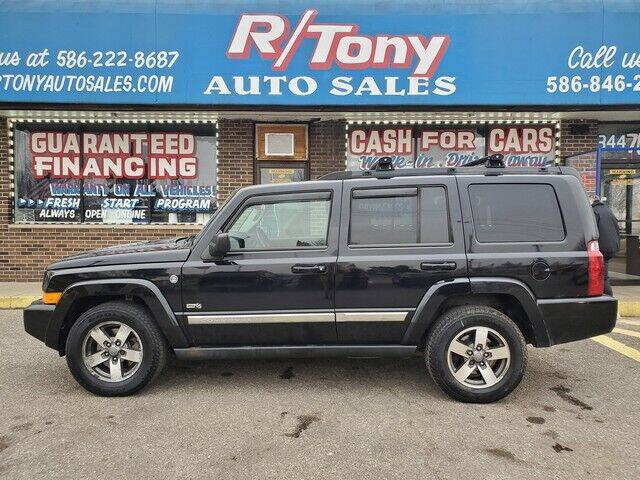 2006 Jeep Commander for sale at R Tony Auto Sales in Clinton Township MI