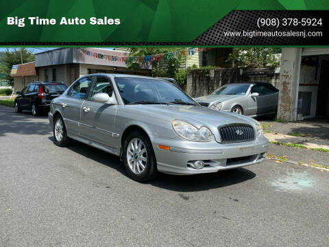 2005 Hyundai Sonata for sale at Big Time Auto Sales in Vauxhall NJ