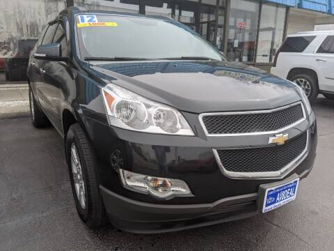 2012 Chevrolet Traverse for sale at GREAT DEALS ON WHEELS in Michigan City IN