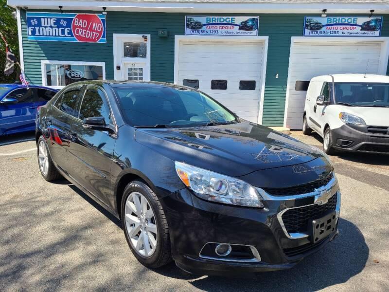 2015 Chevrolet Malibu for sale at Bridge Auto Group Corp in Salem MA