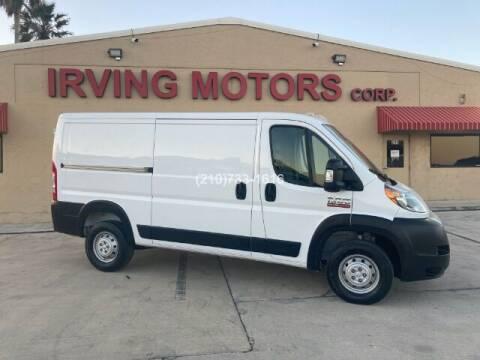2020 RAM ProMaster Cargo for sale at Irving Motors Corp in San Antonio TX