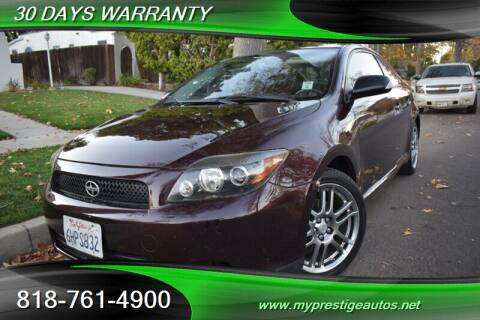 2008 Scion tC for sale at Prestige Auto Sports Inc in North Hollywood CA