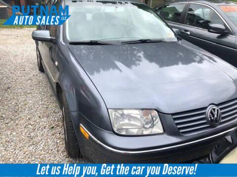 2005 Volkswagen Jetta for sale at PUTNAM AUTO SALES INC in Marietta OH