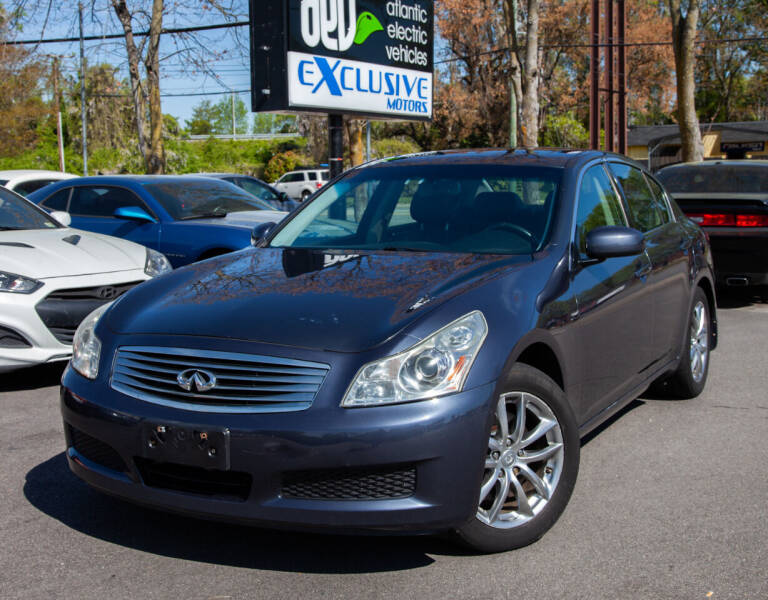 2007 Infiniti G35 for sale at EXCLUSIVE MOTORS in Virginia Beach VA