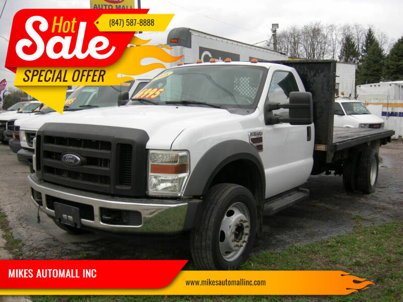 2008 Ford F-550 Super Duty for sale at MIKES AUTOMALL INC in Ingleside IL