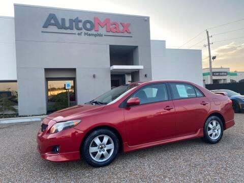2009 Toyota Corolla for sale at AutoMax of Memphis - Alex Vivas in Memphis TN