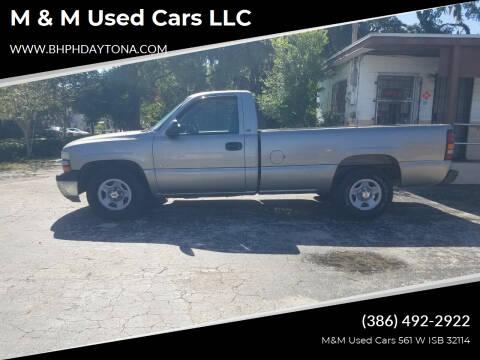2001 Chevrolet Silverado 1500 for sale at M & M Used Cars LLC in Daytona Beach FL