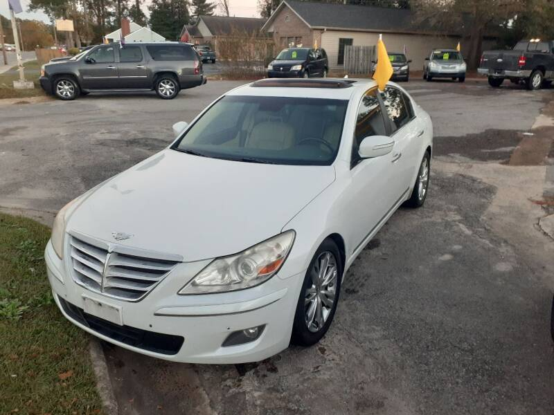 2011 Hyundai Genesis for sale at PIRATE AUTO SALES in Greenville NC