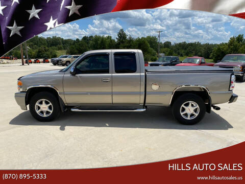 2001 GMC Sierra C3 for sale at Hills Auto Sales in Salem AR
