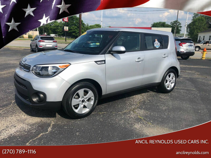 2019 Kia Soul for sale at Ancil Reynolds Used Cars Inc. in Campbellsville KY