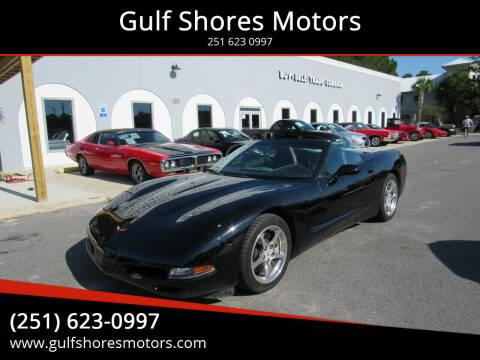 2001 Chevrolet Corvette for sale at Gulf Shores Motors in Gulf Shores AL