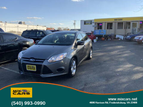 2014 Ford Focus for sale at Mix Cars in Fredericksburg VA