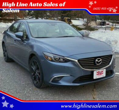 2016 Mazda MAZDA6 for sale at High Line Auto Sales of Salem in Salem NH