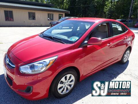 2017 Hyundai Accent for sale at S & J Motor Co Inc. in Merrimack NH