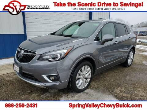 2020 Buick Envision for sale at Spring Valley Chevrolet Buick in Spring Valley MN