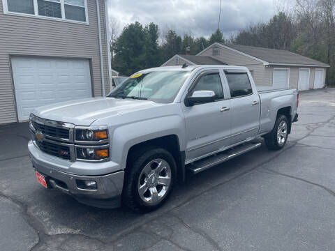 2014 Chevrolet Silverado 1500 for sale at Glen's Auto Sales in Fremont NH