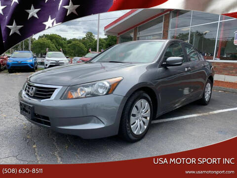 2008 Honda Accord for sale at USA Motor Sport inc in Marlborough MA