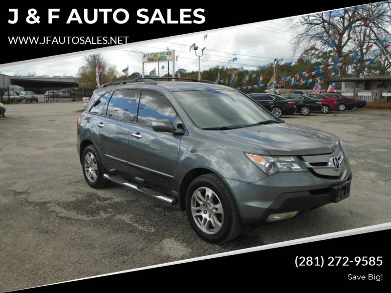 2008 Acura MDX for sale at J & F AUTO SALES in Houston TX