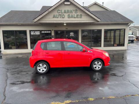 2009 Chevrolet Aveo for sale at Clarks Auto Sales in Middletown OH