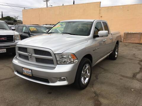 2009 Dodge Ram Pickup 1500 for sale at JR'S AUTO SALES in Pacoima CA