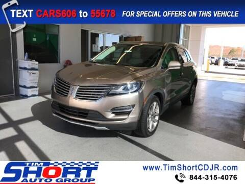 2018 Lincoln MKC for sale at Tim Short Chrysler in Morehead KY