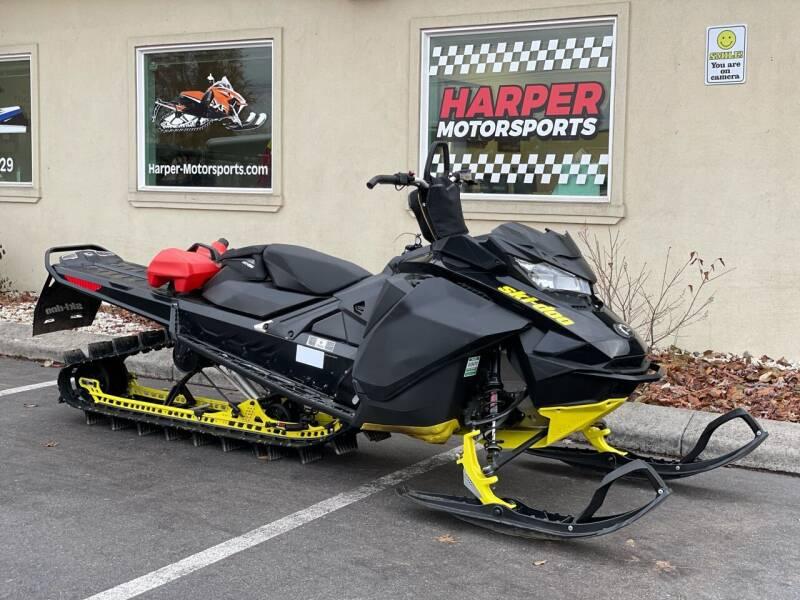 2017 Skidoo Summit X 850 165 3in E-start for sale at Harper Motorsports in Post Falls ID