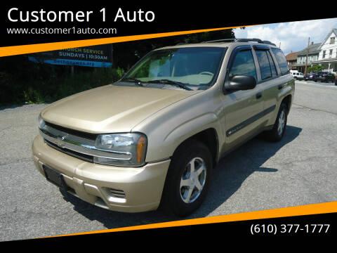 2004 Chevrolet TrailBlazer for sale at Customer 1 Auto in Lehighton PA