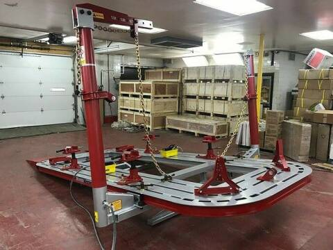 2020 16 FEET 2 TOWER AUTO BODY FRAME MACHINE for sale at Kamran Auto Exchange Inc in Kenosha WI