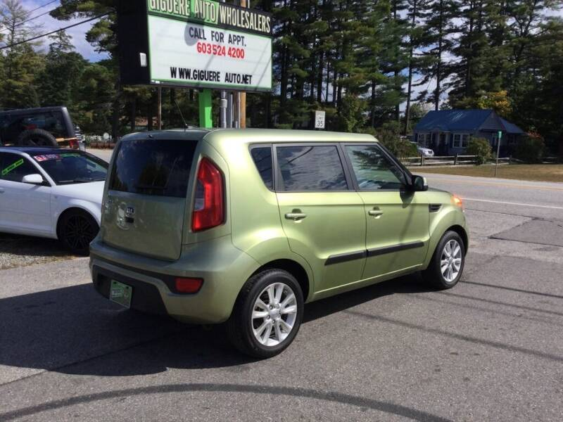 2013 Kia Soul for sale at Giguere Auto Wholesalers in Tilton NH