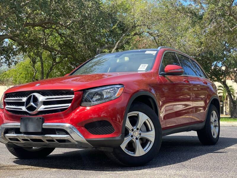 2016 Mercedes-Benz GLC for sale at HIGH PERFORMANCE MOTORS in Hollywood FL
