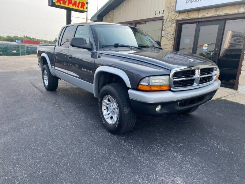 2002 Dodge Dakota for sale at Robbie's Auto Sales and Complete Auto Repair in Rolla MO