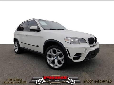 2013 BMW X5 for sale at PRIME MOTORS LLC in Arlington VA