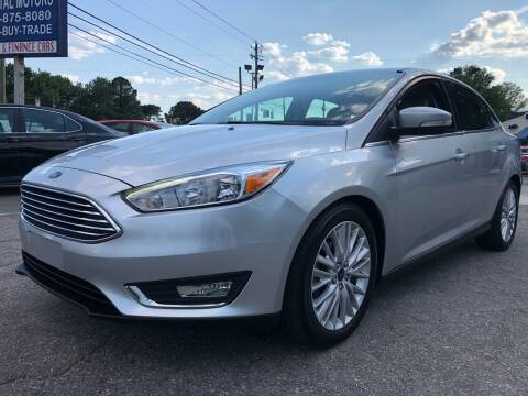2015 Ford Focus for sale at Capital Motors in Raleigh NC