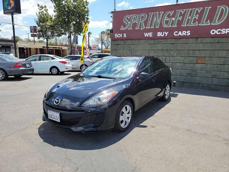 2012 Mazda MAZDA3 for sale at SPRINGFIELD BROTHERS LLC in Fullerton CA