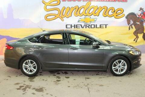2018 Ford Fusion for sale at Sundance Chevrolet in Grand Ledge MI