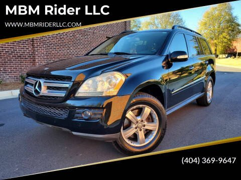 2008 Mercedes-Benz GL-Class for sale at MBM Rider LLC in Alpharetta GA