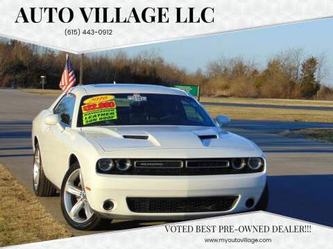 2016 Dodge Challenger for sale at AUTO VILLAGE LLC in Lebanon TN