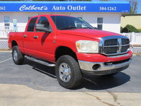 2007 Dodge Ram Pickup 2500 for sale at Colbert's Auto Outlet in Hickory NC