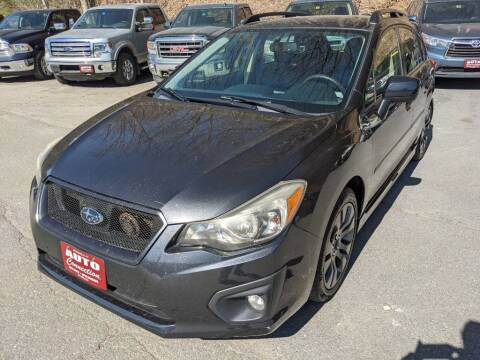 2012 Subaru Impreza for sale at AUTO CONNECTION LLC in Springfield VT